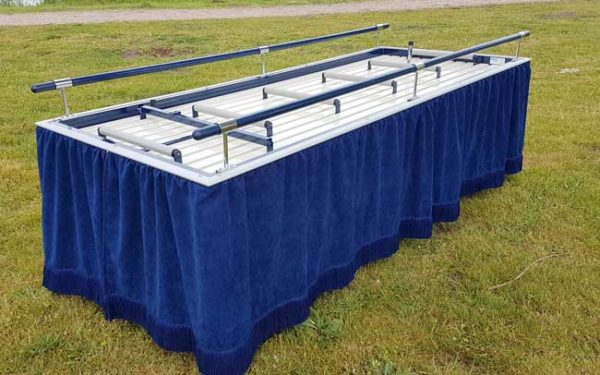 Baarwagen 73 Wit Blauwe Baarwagen 73