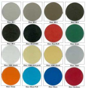 Grafafdekking Kleurenstalen Anodiseren