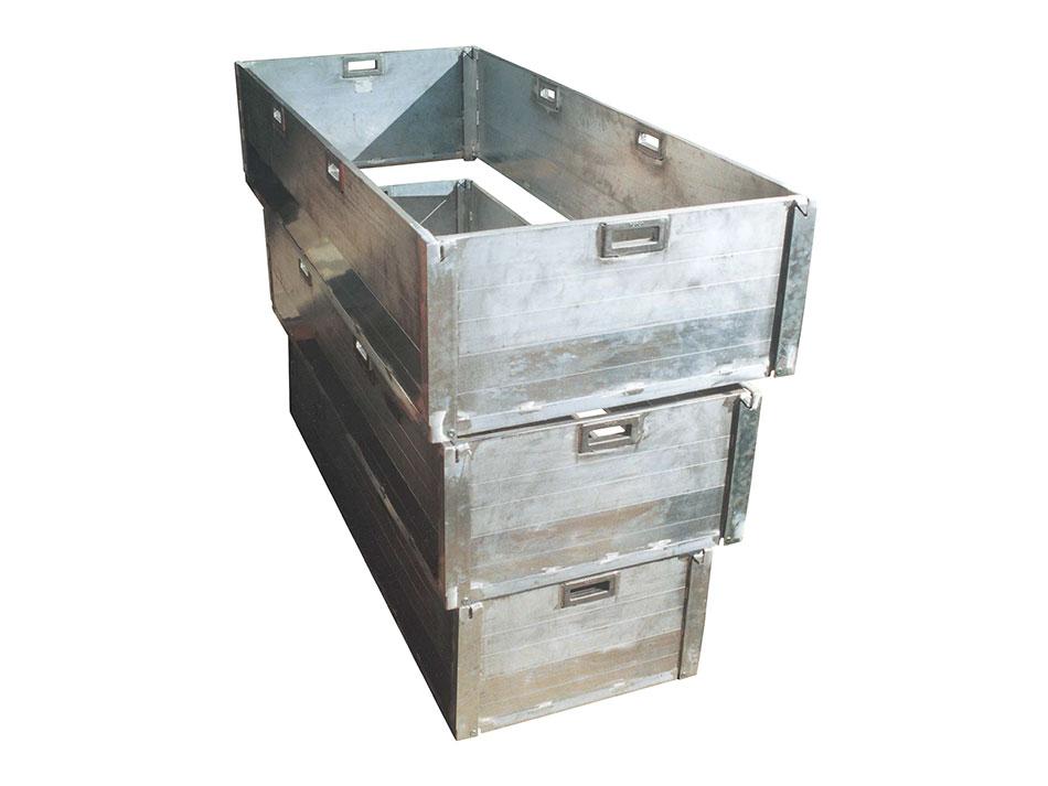 Grafbekisting-aluminium-3-ringen-traps