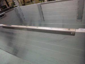 Grafbekisting Vaste Ringen RVS Beschermingsrand Op Grafbekisting