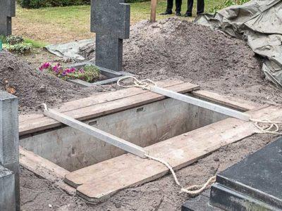Kiststeun Kist Begraafplaats