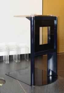 Lessenaar Glasplaat Voor Foto Spreekgestoelte Baarwagen In Aula