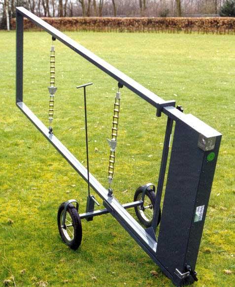 Lift Transportwagen Begraafplaats Transport