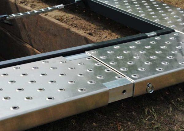 Looprooster Grafomranding Kopdeel Breedte Verstelbaar