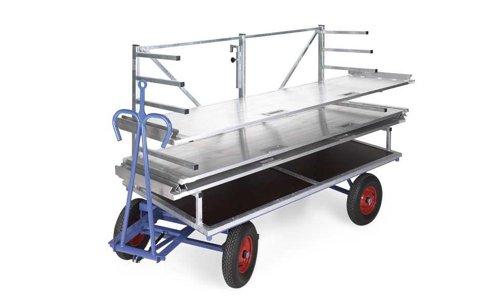 Materiaalwagen Grafbekisting Transport Begraafplaats