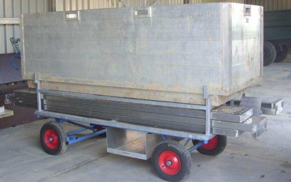 Materiaalwagen Vaste Bakken Grafbekisting
