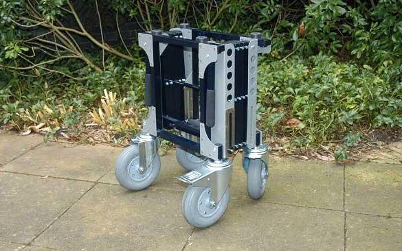 Schaarwagen Inklapbaar Klein Overledenen Transport