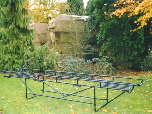 Schouderdraagbaar Vaste Of In Hoogte Instelbare Schouderkussens Begraafplaats